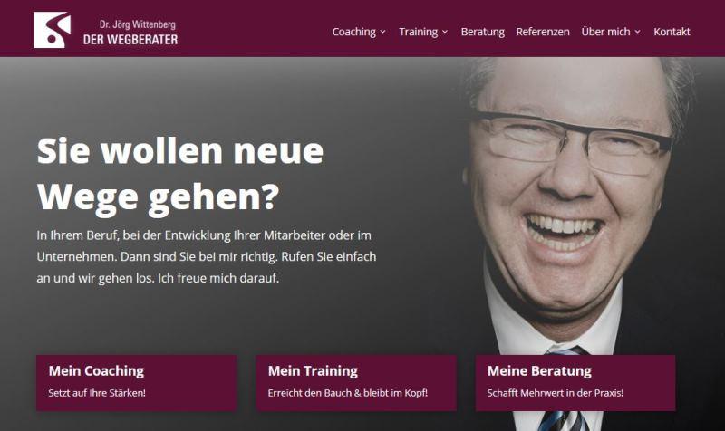 Bild Homepage Startseite - Der Wegberater